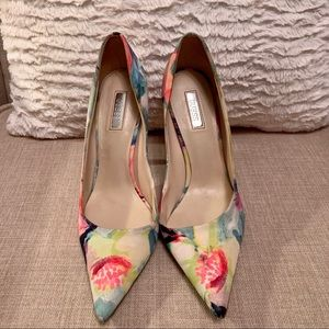 Bright Floral Guess Heels